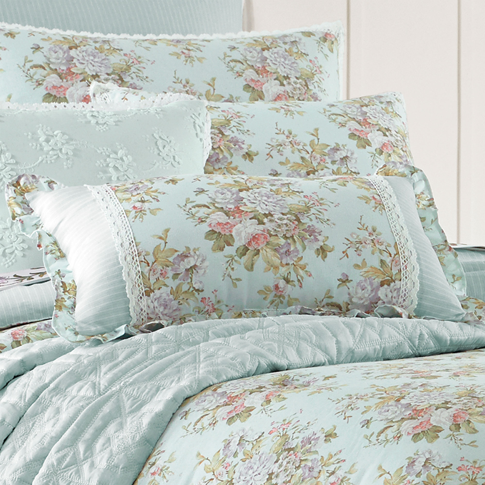 Haley Queen 4 Piece Comforter Set