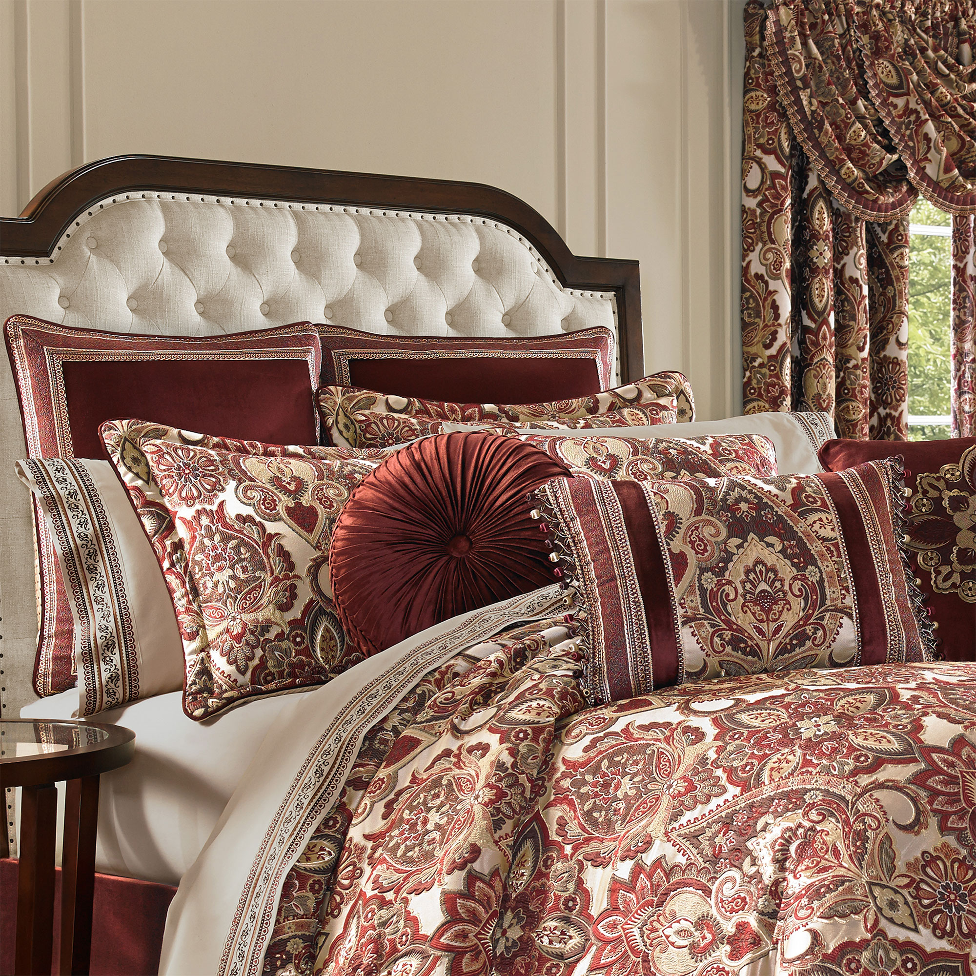 Rosewood comforter set for Rosewood home