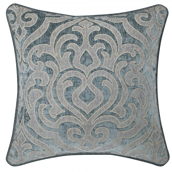 "Sicily Teal 20"" Square Decorative Pillow"