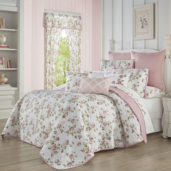 Rosemary Rose Twin 2PC. Quilt Set