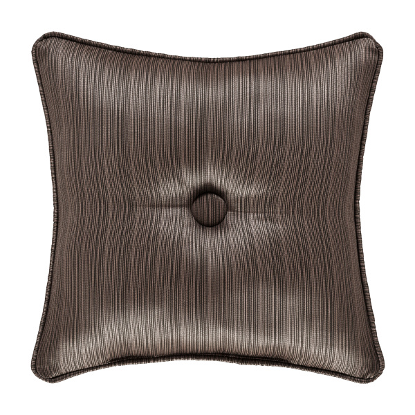 "Neapolitan 16"" Square Decorative Throw Pillow Mink"