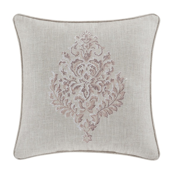 "Angeline 20"" Square Decorative Throw Pillow"