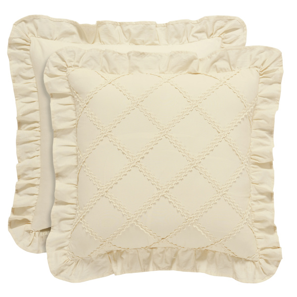 "Anna 18"" Square Decorative Pillow"