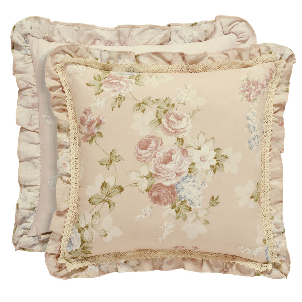 "Anna 20"" Square Decorative Pillow"