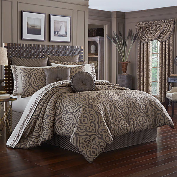 Astoria Mink Queen 4-Piece Comforter Set