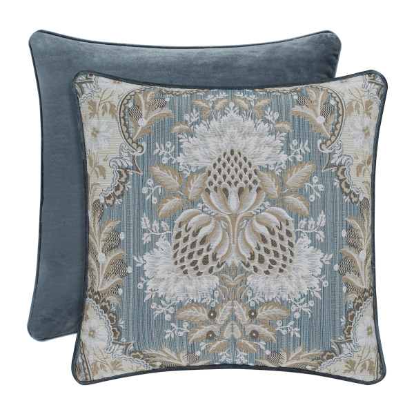"Crystal Palace 18"" Square Decorative Pillow"