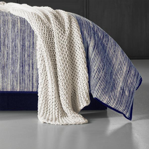 Flen Indigo 4 Piece Comforter Set