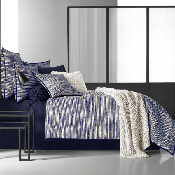 Flen Indigo King 4-Piece Comforter Set