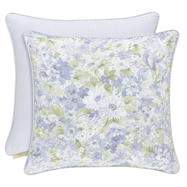 "Flower Bed 20"" Square Pillow"