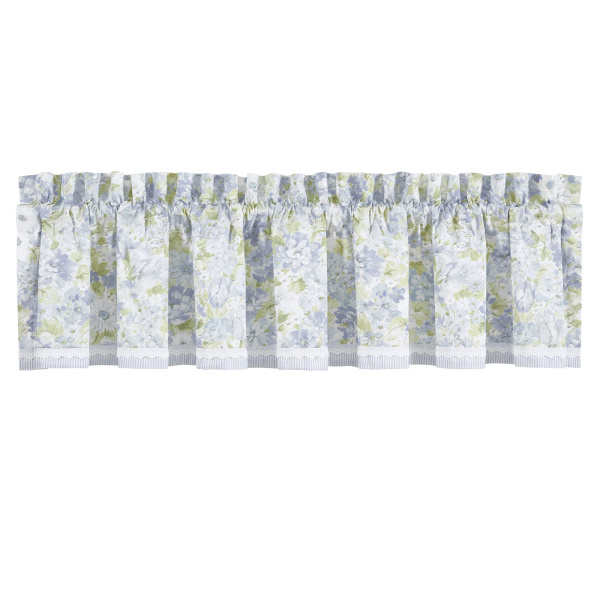 Flower Bed Straight Valance