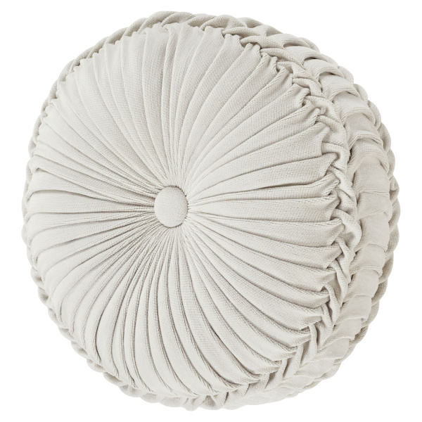 Giovanni Tufted Round Decorative Pillow