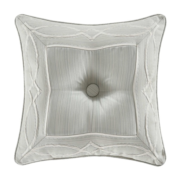 "Nouveau 18"" Square Decorative Throw Pillow"