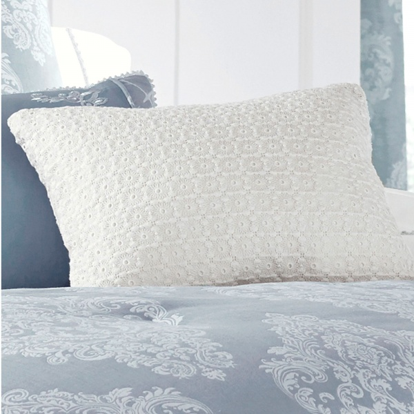 Pier And Wright Ansonia Eyelet Boudoir Upclose Blue