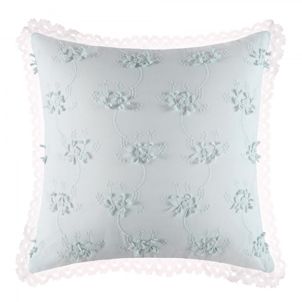 Haley 3D Floral Throw Pillow