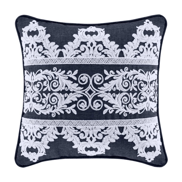 "Shelburne 16"" Square Decorative Throw Pillow"