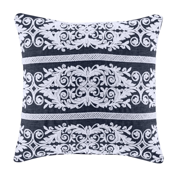 "Shelburne 18"" Square Decorative Throw Pillow"