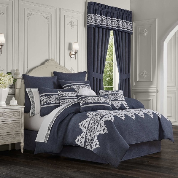 Shelburne King 4 Piece Comforter Set