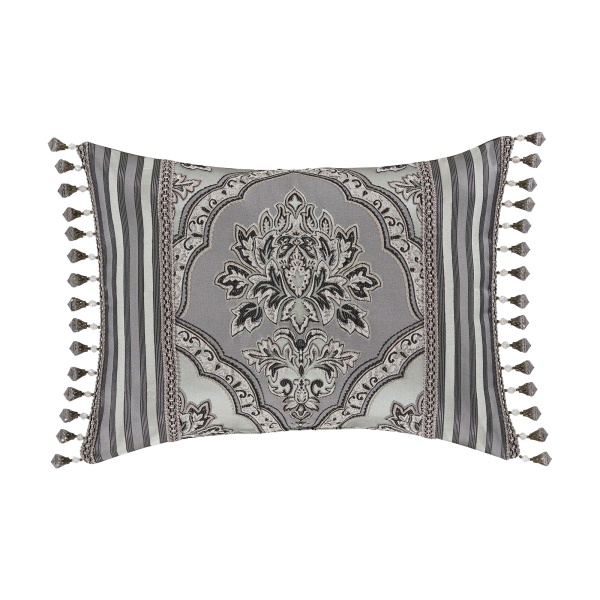 Silverstone Boudoir Decorative Throw Pillow