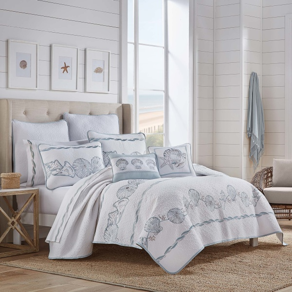 Water Front Twin/Twin Xl 2 Piece Quilt Set