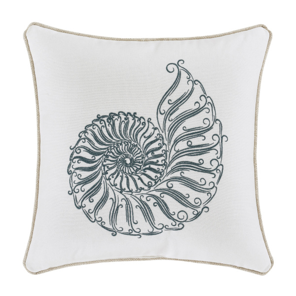 "Waterbury 17"" Square Decorative Throw Pillow"