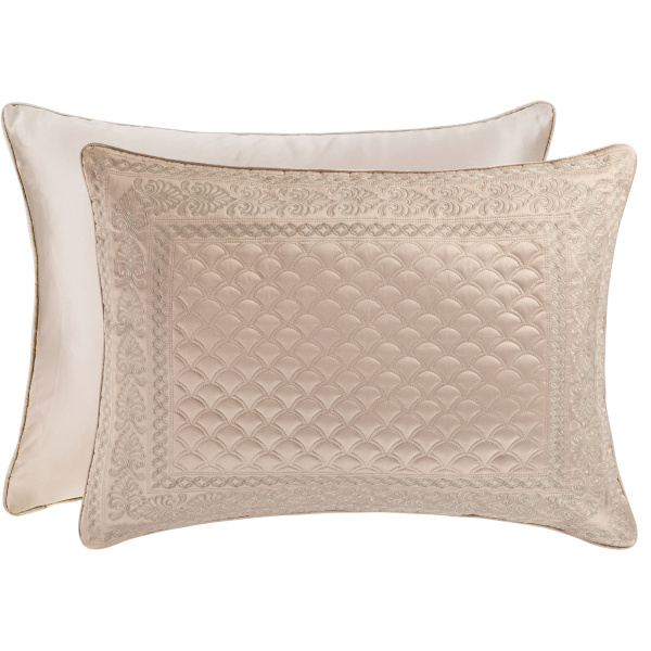 Zilara Taupe Standard Quilted Sham