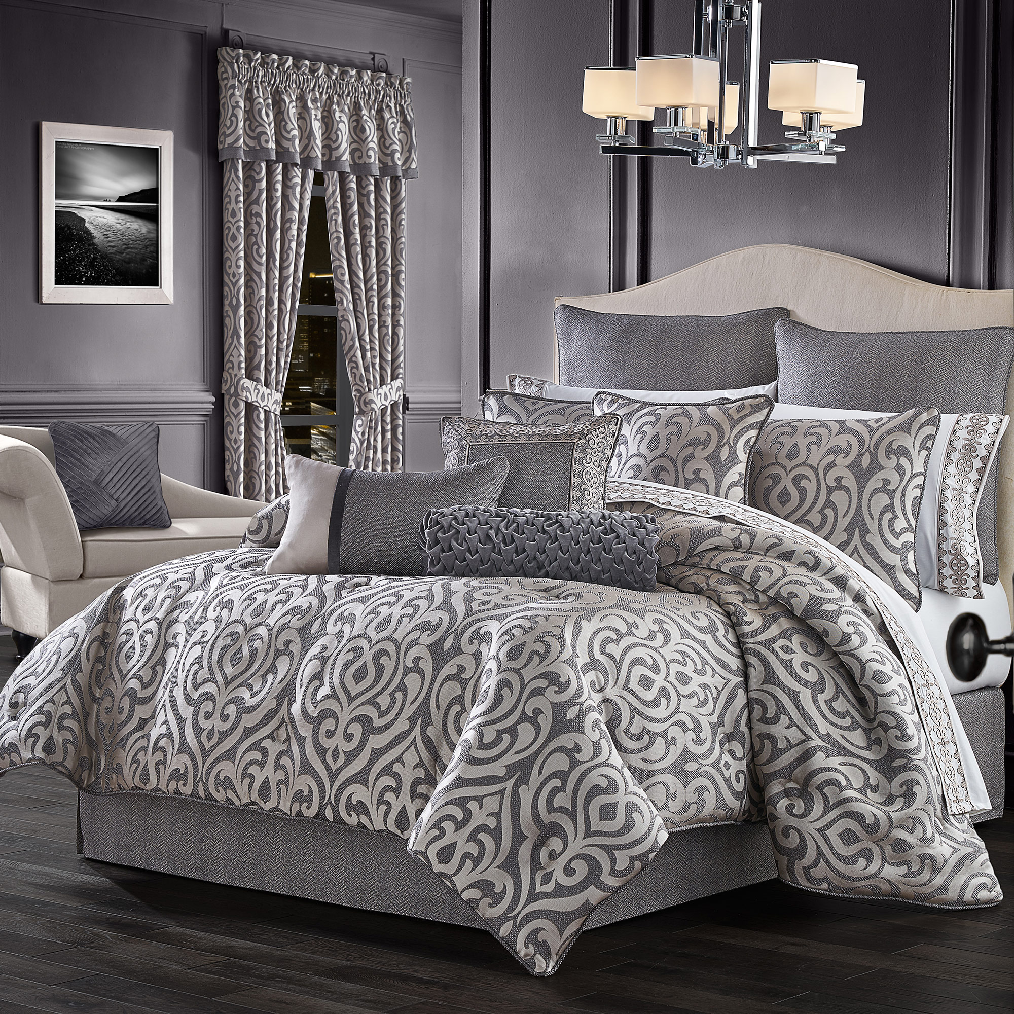 Tribeca California King 4 Piece Comforter Set