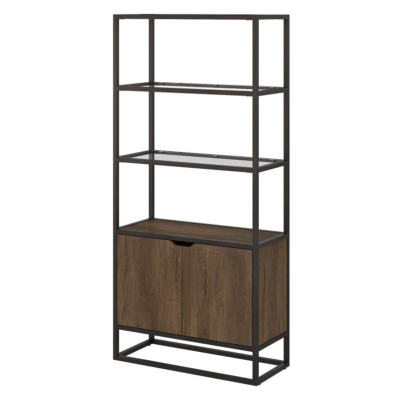 ATB130RB-03 5 Shelf Bookcase with Doors