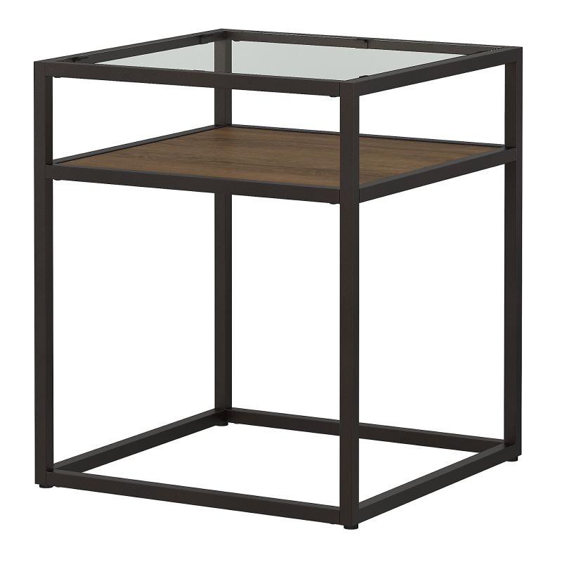 ATT120RB-03 Glass Top End Table