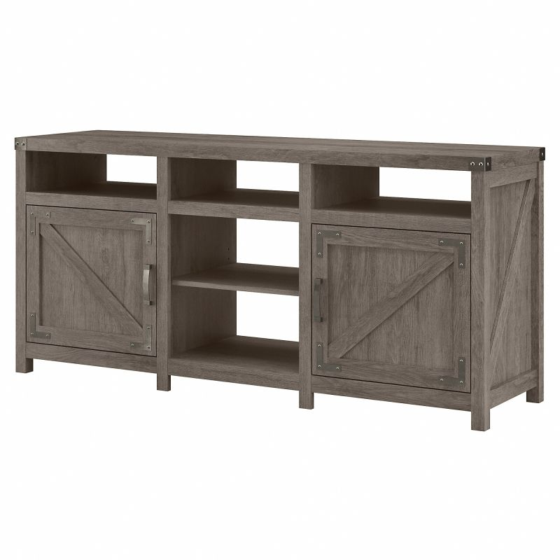 CGV165RTG-03 Cottage Grove 65W Farmhouse TV Stand for 70 Inch TV in Restored Gray