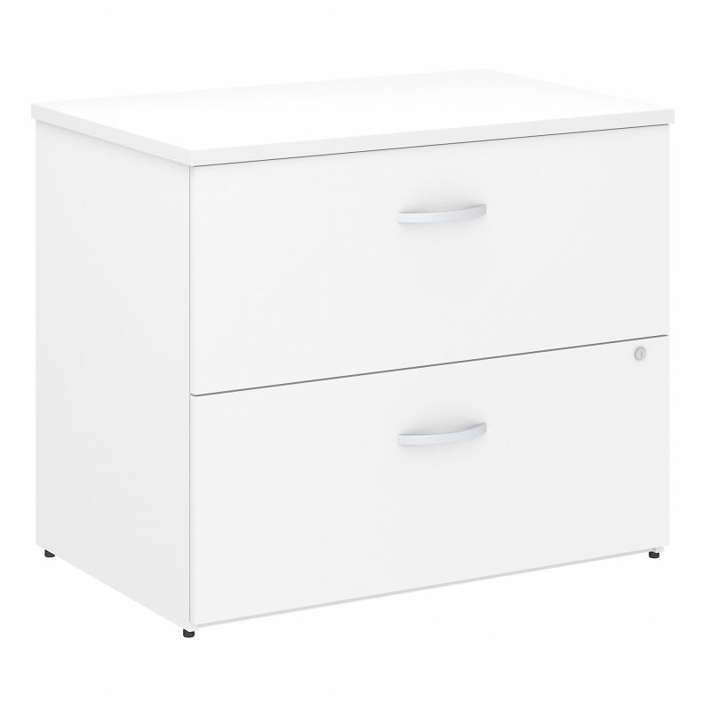 FTR005WHSU 36W 2 Drawer Lateral File-Assembled