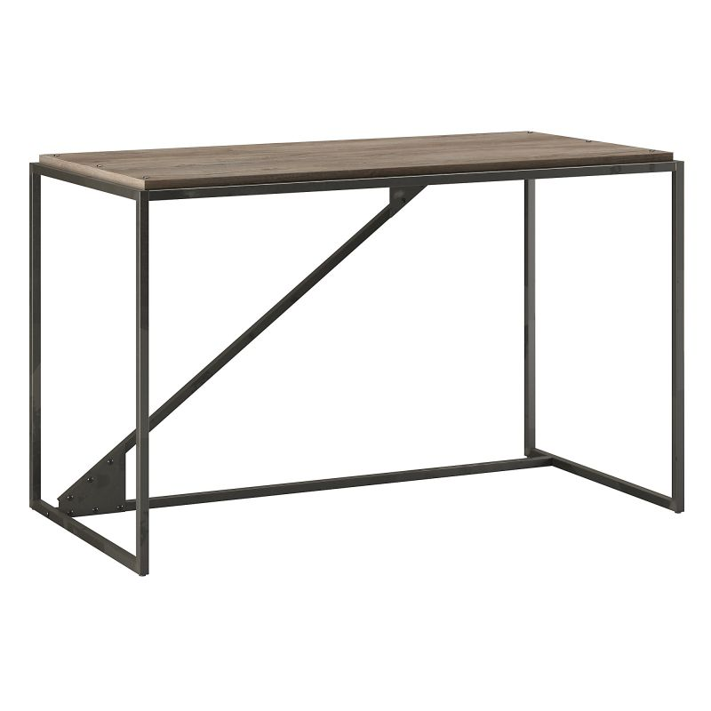 RFD150RG-03 50W Industrial Desk in Rustic Gray