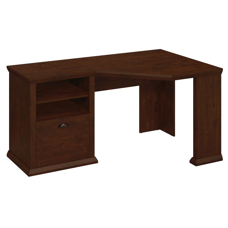 WC40315-03 Corner Desk in Antique Cherry