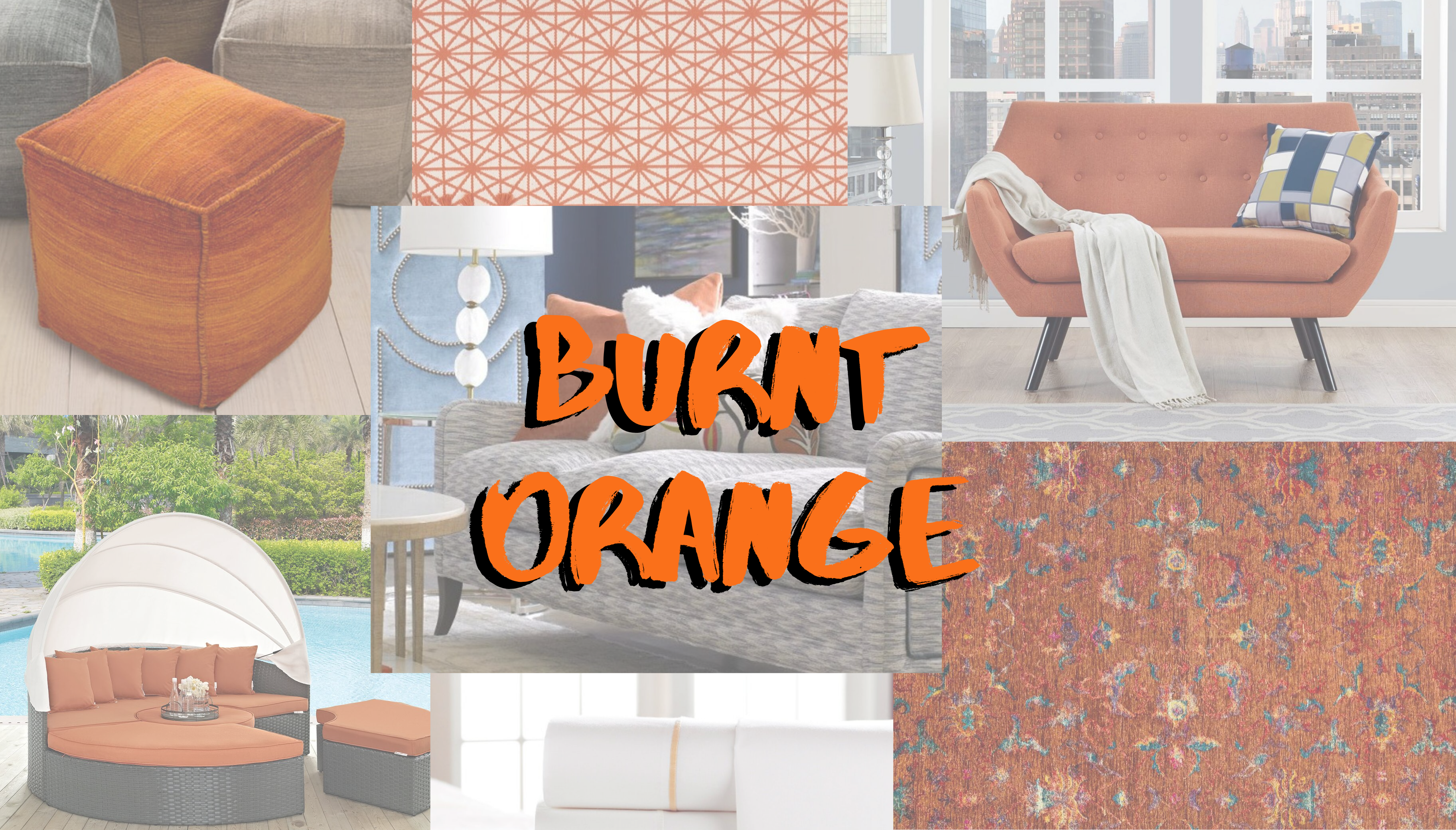 Burnt Orange:  Autumn's Hottest Color Crush