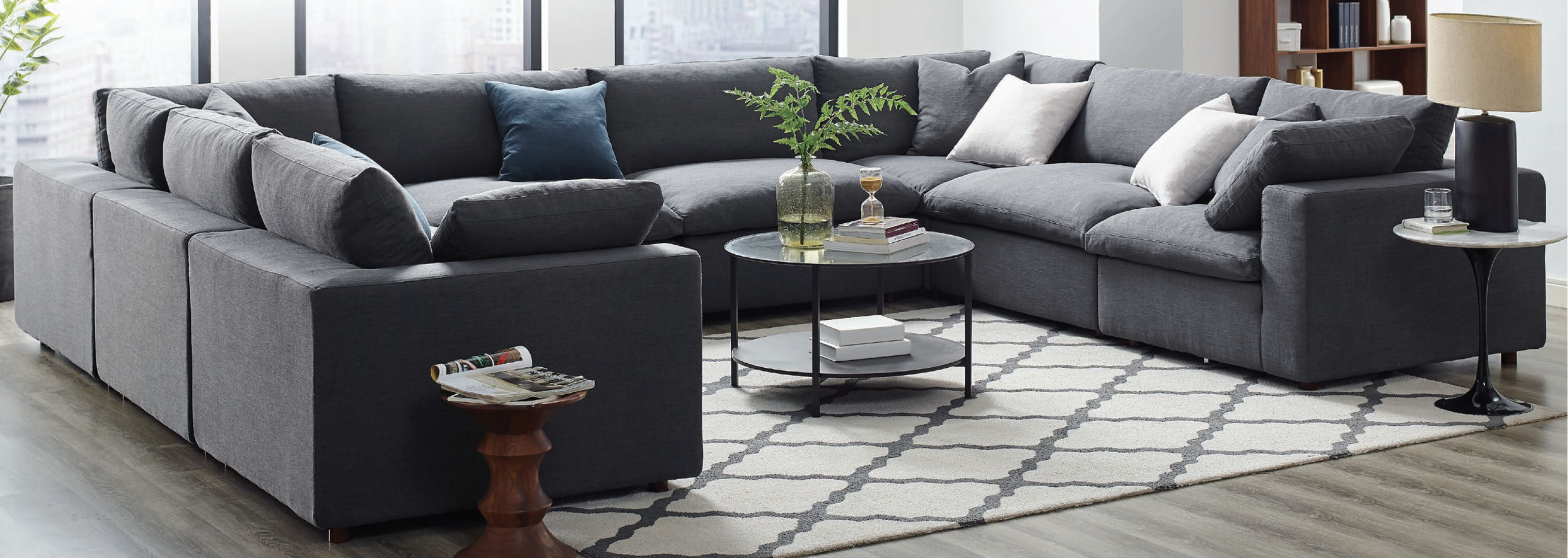 Modway Commix Sectional