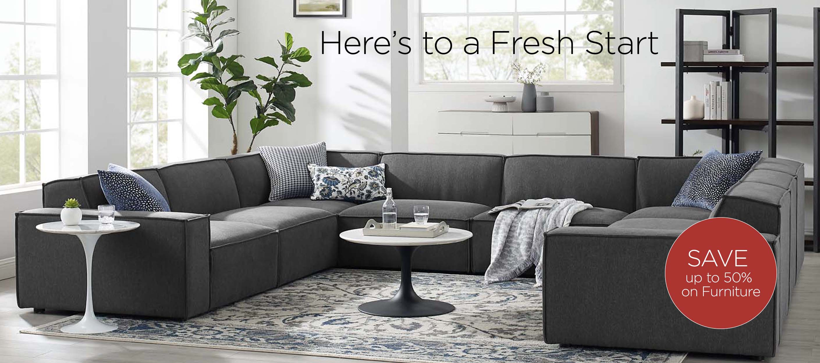 Save on Sofas and Sectionals