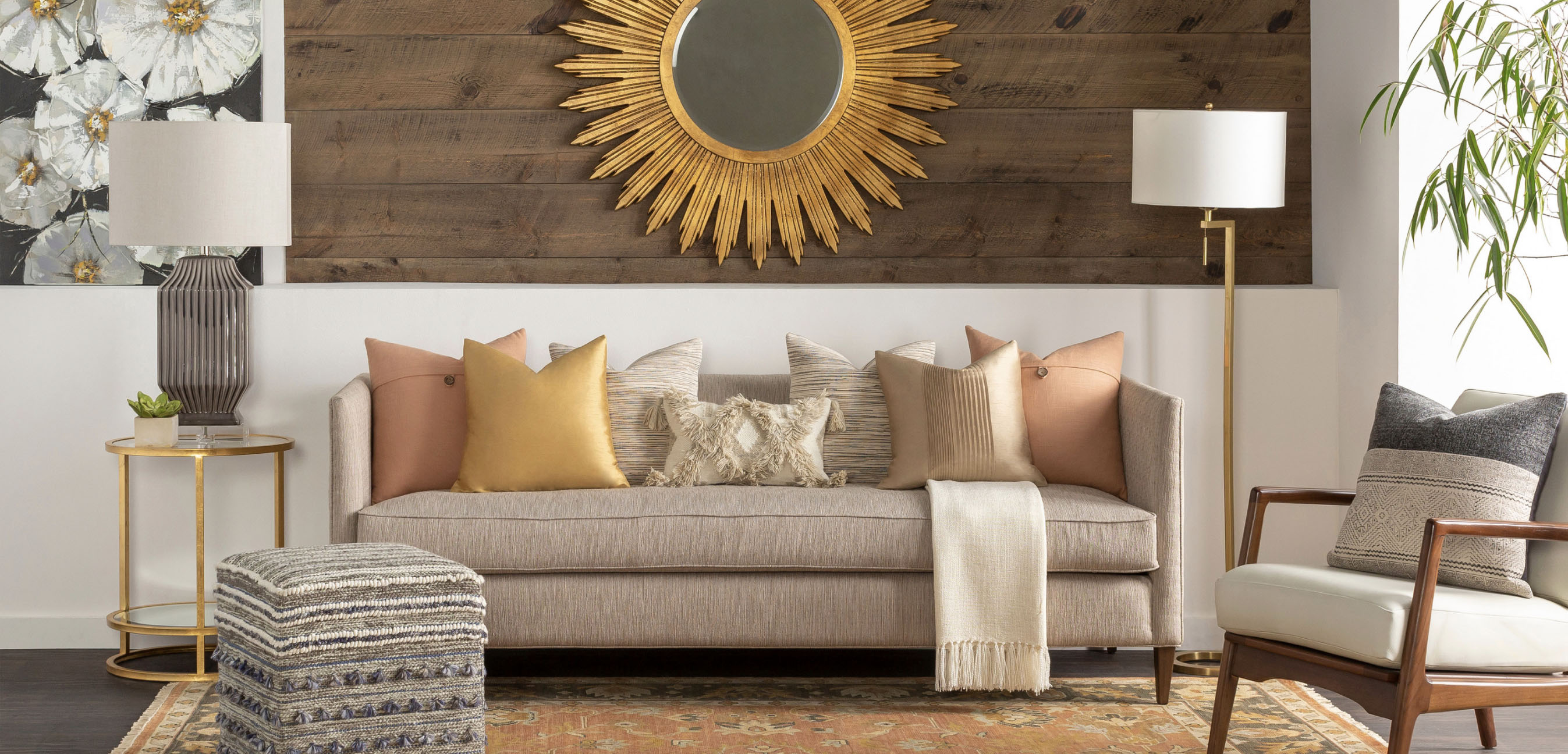 Surya Mirrors and Lighting