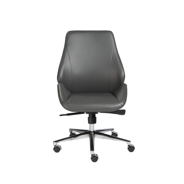 00470GRY Bergen Low Back Office Chair w/o Armrests