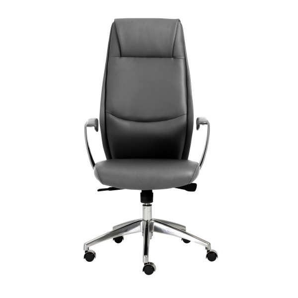 00472GRY Crosby High Back Office Chair