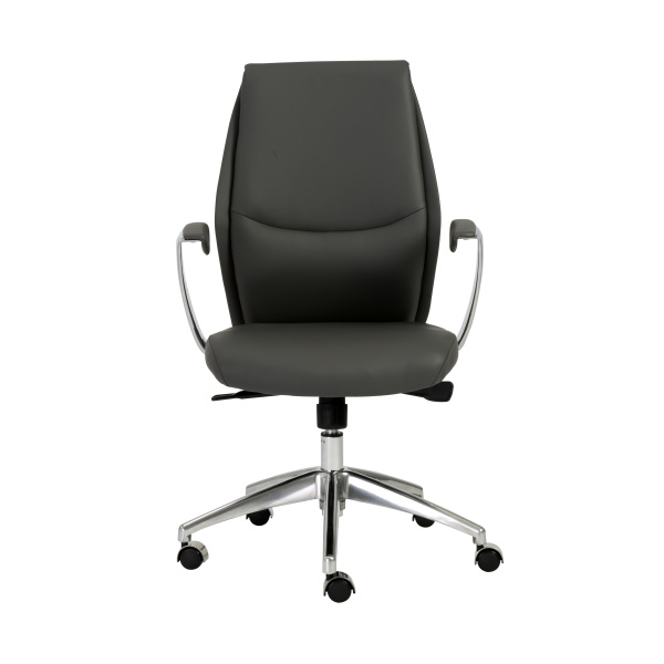 00473GRY Crosby Low Back Office Chair