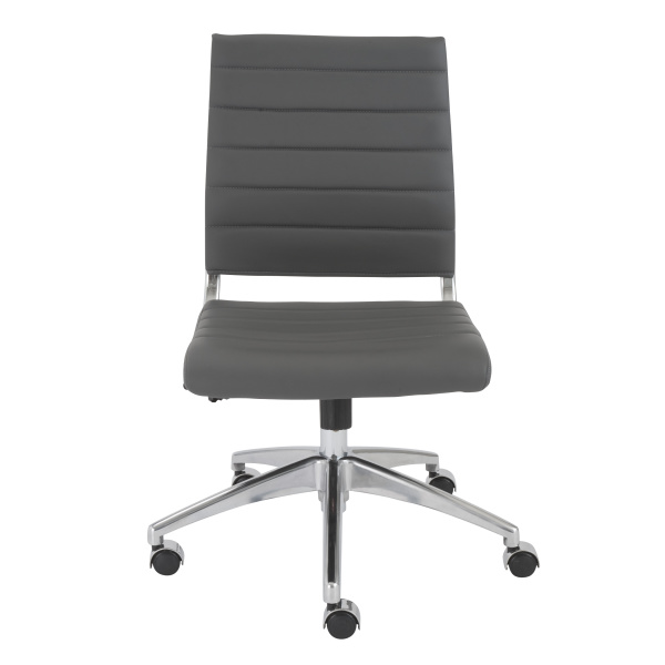 00595GRY Axel Low Back Office Chair w/o Armrests
