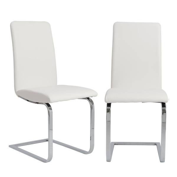 05090WHT Cinzia Side Chair (Set of 2)