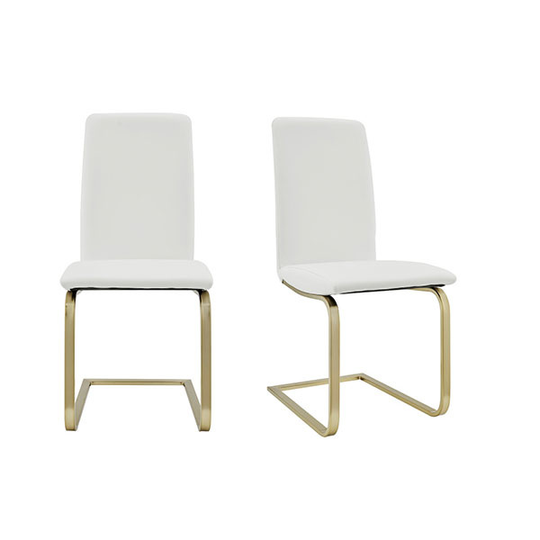 05090WHTMBG Cinzia Side Chair (Set of 2)