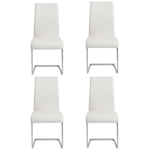 05093WHT Epifania Side Chair  (Set of 4)