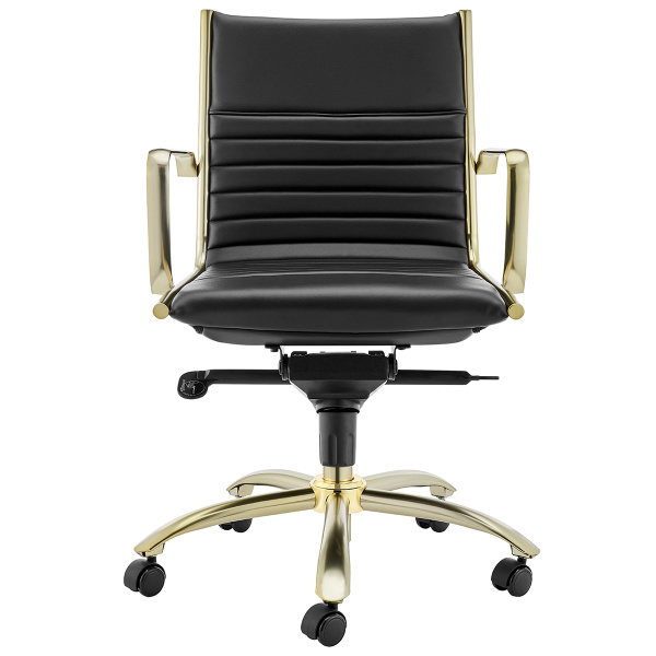 10674BLKMBG Dirk Low Back Office Chair