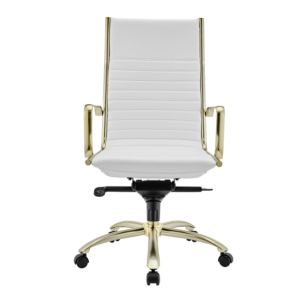10675WHTMBG Dirk High Back Office Chair