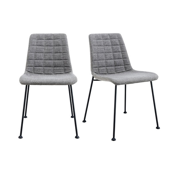 30558LTGRY Elma Side Chair  (Set of 2)