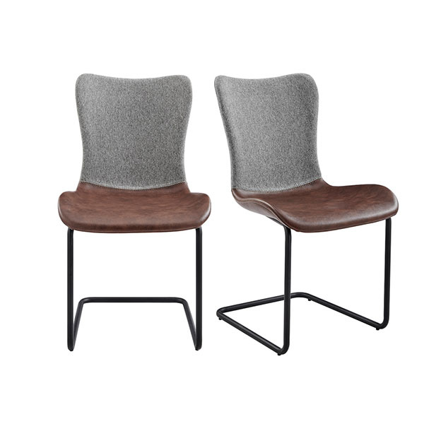 30568LTBRN Juni Side Chair (Set of 2)