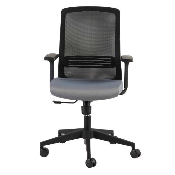 39003BLK Spiro Office Chair with Adjustable Arms