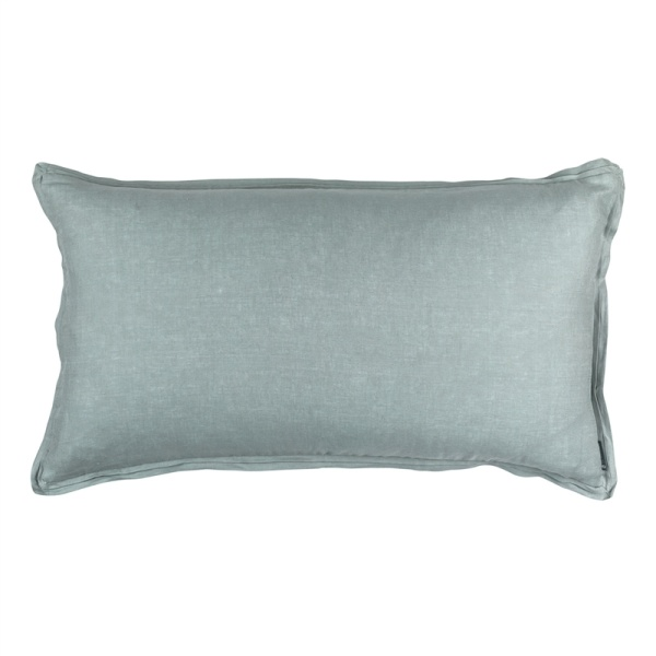 Bloom King Double Flange Pillow Sky Linen 20x36 (Insert Included)