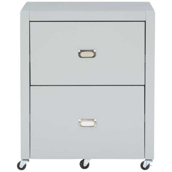 PG146GRY01U Peggy File Cabinet Gray